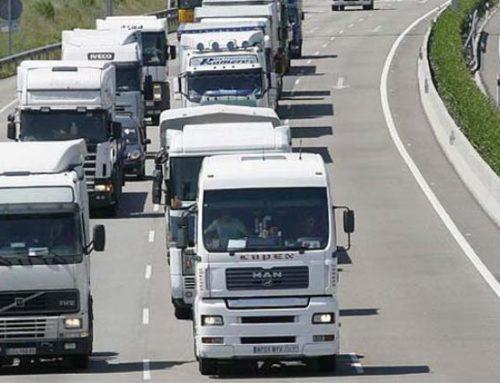 La huelga en el sector del transporte